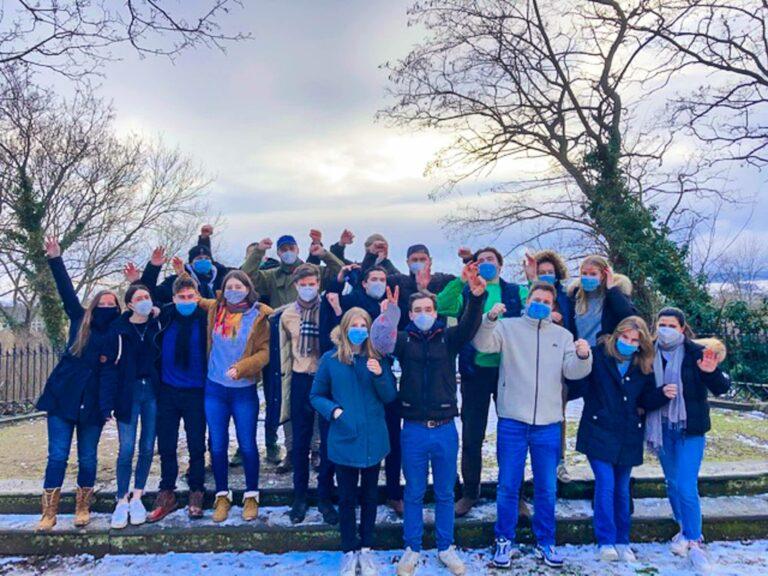 Abiturienten verbringen sogar ihre Winterferien im Internat