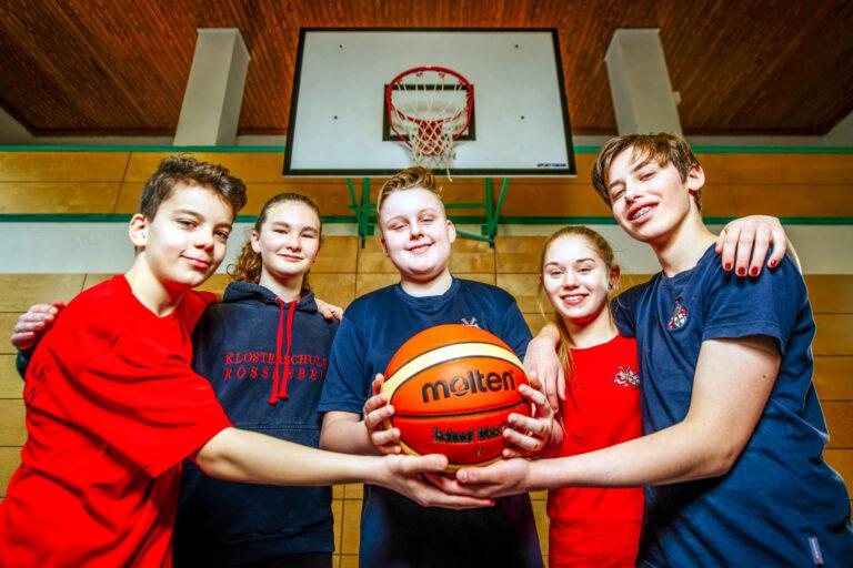 Die Basketballgilde dankt dem Förderverein